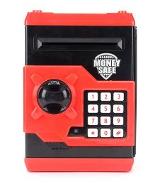 Playmate Money Safe With Electronic Lock - Red & Black