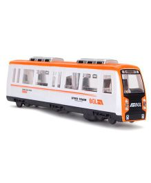 Playmate Super High Speed Bullet Train - Orange And White