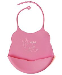 Babycenter India Bib - Pink