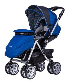 Babycenter India Capella Cony Stroller - Blue