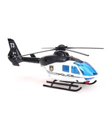 Dickie Police Helicopter Toy - White