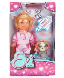 Evi Love Doll Space Theme Multicolor - 4 Inches