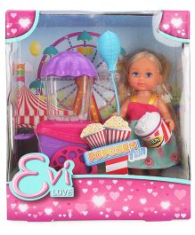 Evi Love Popcorn Fun Doll Multicolor - 4 Inches