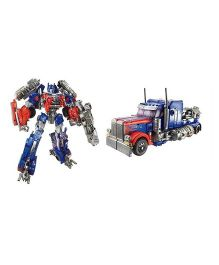 Emob Convertible Truck Into Robot Toy - Red Blue