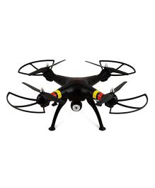 Emob 4 Channel RC Quadcopter With 2MP Wide Angle HD Camera 6 Axis Professional Drone - Black