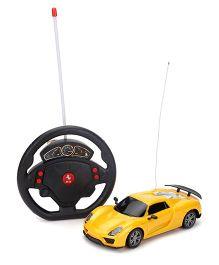 Majorette Remote Conrol Car - Yellow