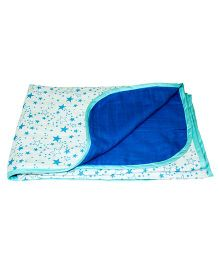 Kadambaby Muslin Baby Blanket - Star Print