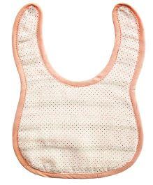 Kadambaby Muslin Bib - Pink Dots