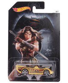 Hot Wheels Wonder Woman Car - Golden