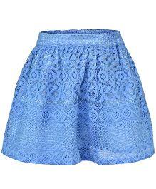 Pspeaches Elegant Party Skirt - Blue