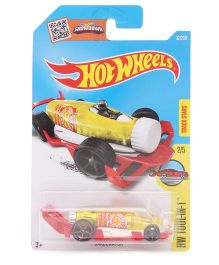 Hot Wheels HW Tool In 1 Car Assorted Colour - Red And Yellow
