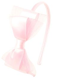 Bunchi Pretty Bow Hair Band - Light Pink