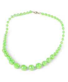 Bunchi Sparkling Beads Necklace - Green