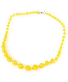 Bunchi Sparkling Beads Necklace - Yellow