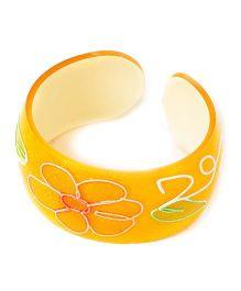 Bunchi Neon Hand Bracelet - Orange