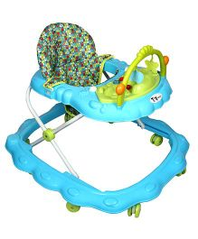 Toyhouse Rabbit Musical Baby Walker Blue - THBWL 123B