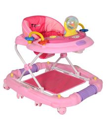 Toyhouse Baby Walker Cum Rocker Pink - THBWL 8902P