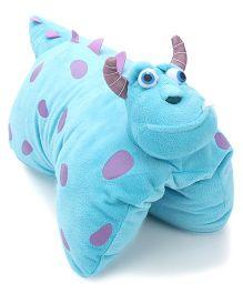 Disney Sullivan Folding Plush Pillow - Blue