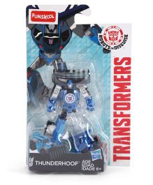 Transformers Funskool Thunderhoof Action Figure Blue And Black - 6.5 cm