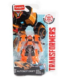 Transformers Funskool Autobot Drift Action Figure Orange - 6.5 cm