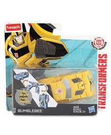 Transformers Funskool Bumblebee Action Figure  - Yellow
