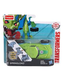 Transformers Funskool Springload Robotic Toy - Green