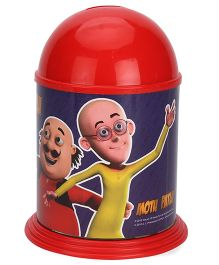 Motu Patlu Dome Coin Bank - Red
