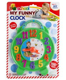 Playmate School My Funny Clock Shape Sorter - Multicolor