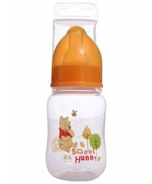 Winnie the Pooh Feeding Bottle Orange 120 ml