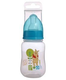 Disney Winnie the Pooh Feeding Bottle Blue 120 ml