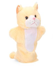 IR Hand Puppet Kitty Yellow  - 10 Inches