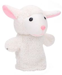 IR Hand Puppet Sheep White - 8 Inches