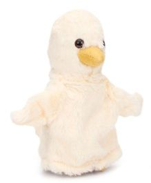 IR Hand Puppet Chick Cream - 8 Inches