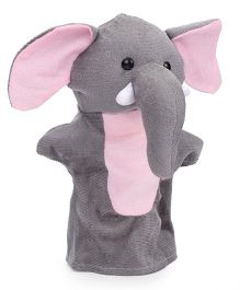 IR Hand Puppet Elephant Grey - 11 Inches