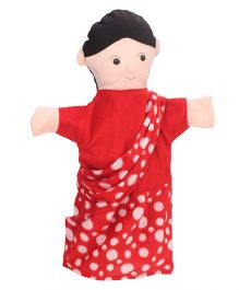 IR Hand Puppet Family Members Multicolor Pack Of 6 - 40 cm