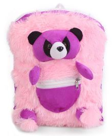 IR Panda School Bag Purple Pink - 11 Inches