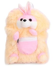IR Bunny School Bag Pink Cream - 11 Inches
