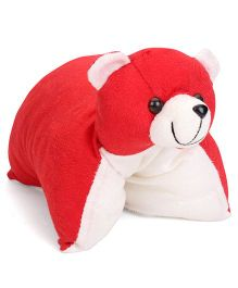 IR Folding Pillow Teddy - Red