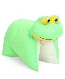 IR Folding Pillow Frog - Green