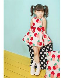 Superfie Beautiful Dress With Bow - Pink