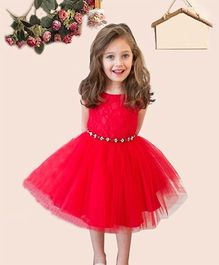 Superfie Lovable Party Dress - Red