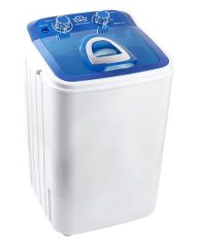 DMR MiniWash Portable Single Tub Semi Automatic Washing Machine - Blue