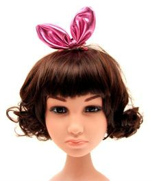 Princess Cart Cat Ears Pack Of 2 Bow Hairclips - Baby Pink
