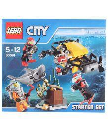 Lego Funskool Deep Sea Starter Set - Multicolor