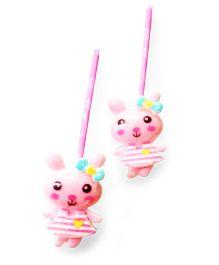 Akinoskids Mini Bunny Hair Pins - Baby Pink
