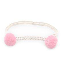 Little Cuddle Pom Pom Headband - Pink