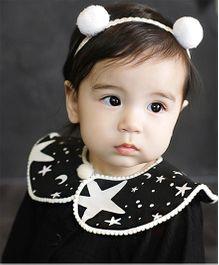 Little Cuddle Pom Pom Headband - White