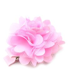 Little Cuddle Pom Pom Hairclip - Light Pink