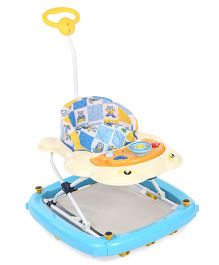 Infanto Dolphin 2 In 1 Walker Cum Rocker - Blue