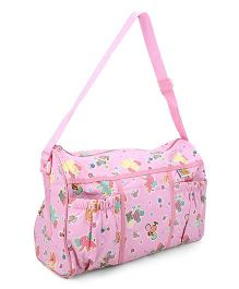 Mee Mee Nursery Bag Animal Print - Pink